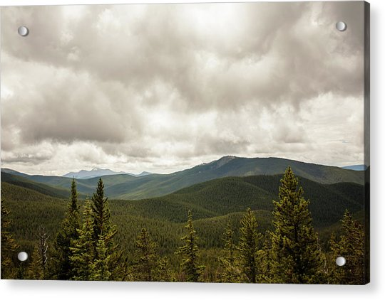 Near Monarch Pass At The Continental Divide Acrylic Print