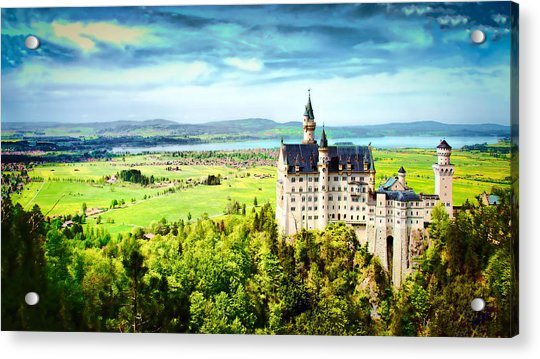 Acrylic Print featuring the photograph Neuschwanstein Castle by Kevin McClish