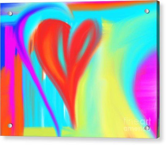 New Heart Acrylic Print