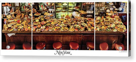 Acrylic Print featuring the photograph The New York Diner by New York Magazine