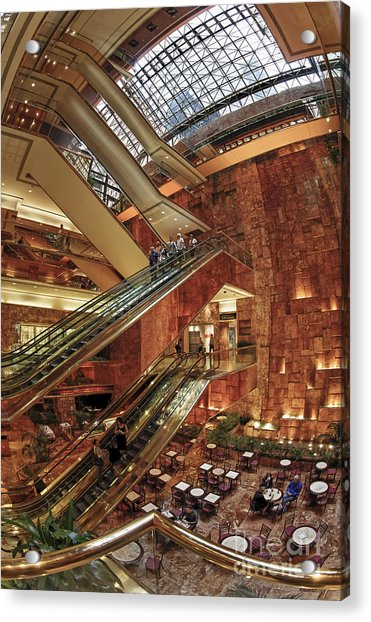 Acrylic Print featuring the photograph New York Trump Tower  by Juergen Held