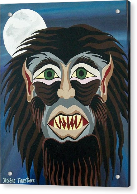 Night Cries Acrylic Print by Deidre Firestone
