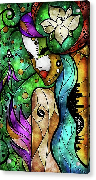Nola Acrylic Print