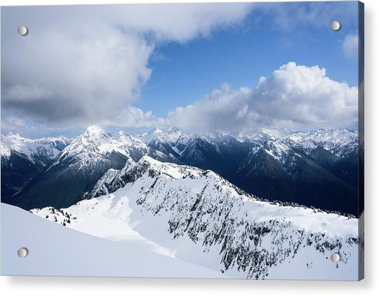 North Cascade Mountains Acrylic Print