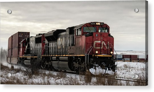 Northbound Double Stack Acrylic Print
