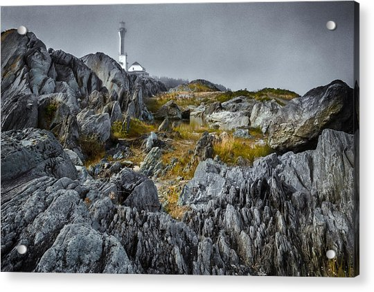 Acrylic Print featuring the photograph Nova Scotia's Rocky Shore by Garvin Hunter