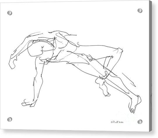 Nude_male_drawings_23 Acrylic Print