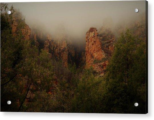 Oak Creek Canyon Arizona Acrylic Print