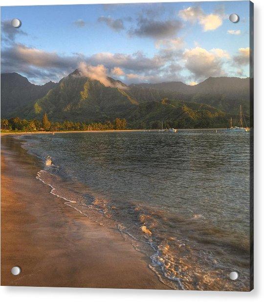 Ocean Mountains Acrylic Print