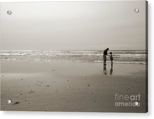 Oceanside Discovery 2 - Toned Acrylic Print