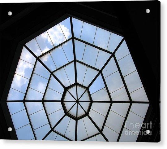 Octagon Skylight Acrylic Print