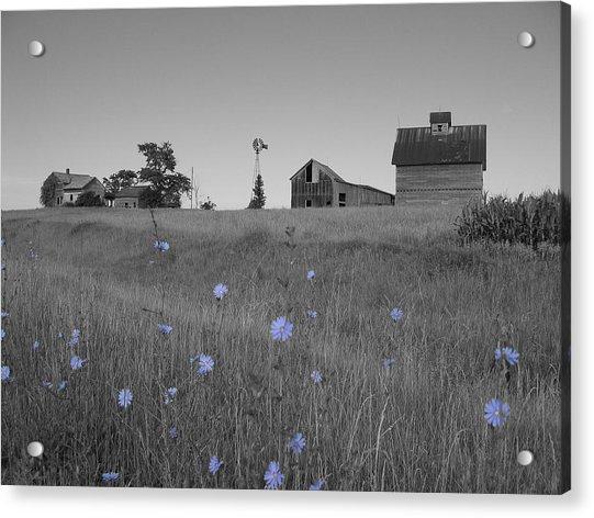 Odell Farm Iv Acrylic Print