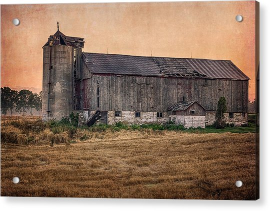 Old Country Barn Acrylic Print