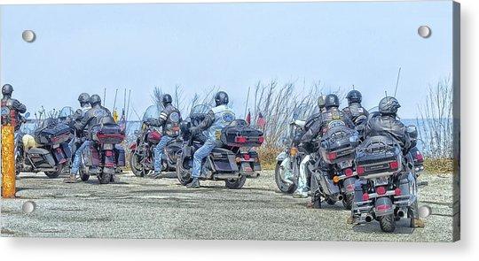 Old Fart Riders Acrylic Print