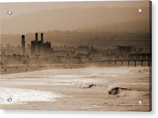 Old Hermosa Beach Acrylic Print