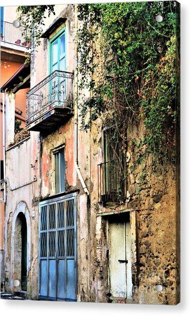 Old Sorrento Street Acrylic Print