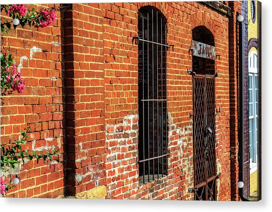 Old Town Jail Acrylic Print
