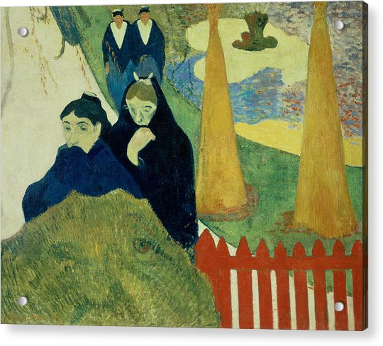 Old Women Of Arles Acrylic Print