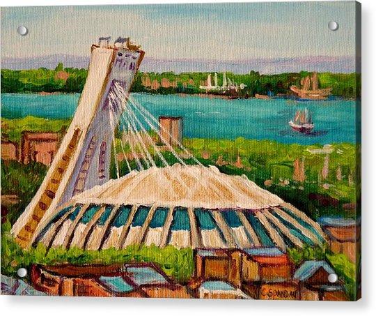 Olympic Stadium  Montreal Acrylic Print