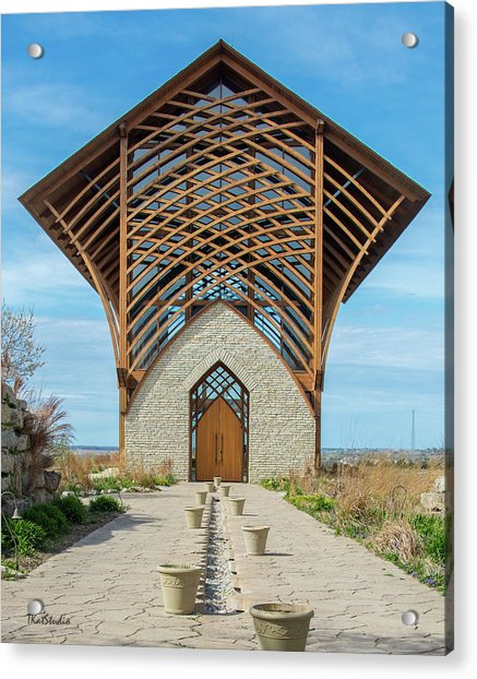 Omaha Holy Family Shrine Acrylic Print