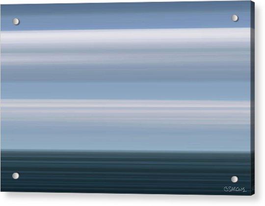 On Sea Acrylic Print