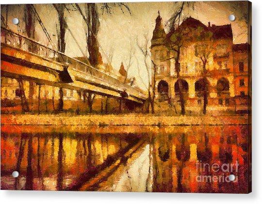 Oradea Chris River Acrylic Print