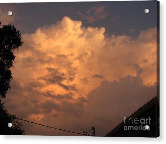 Orange Hue Acrylic Print