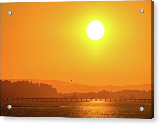 Oregon Sunrise Acrylic Print