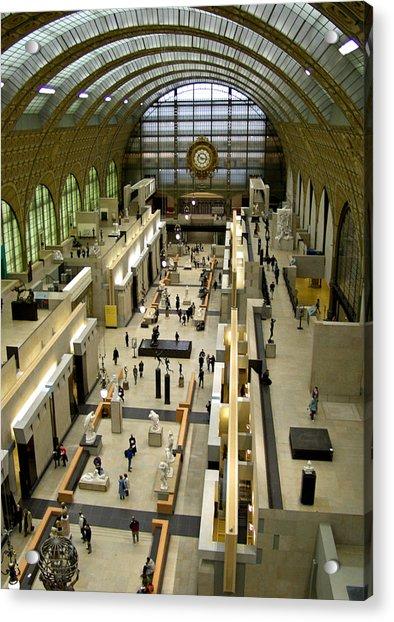 Orsay Museum Acrylic Print