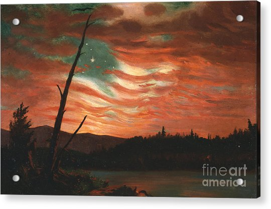 Our Banner In The Sky Acrylic Print