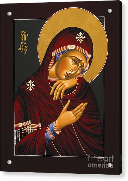 Our Lady Of Sorrows 028 Acrylic Print