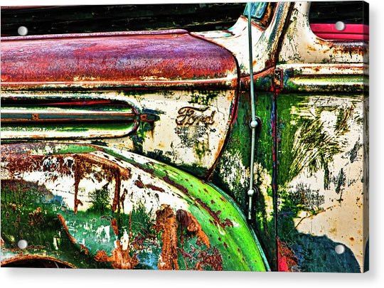 Out Of Warrantee Acrylic Print