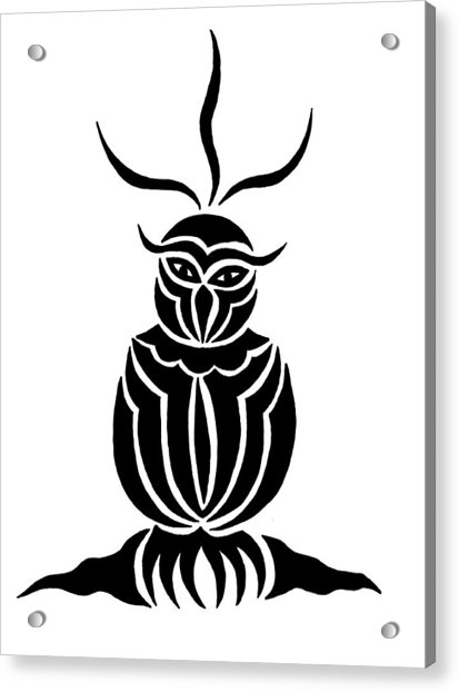 Owl For Nicole Acrylic Print
