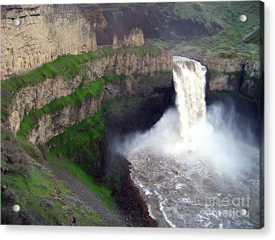 Palouse Falls - The Official Washington State Waterfall Acrylic Print