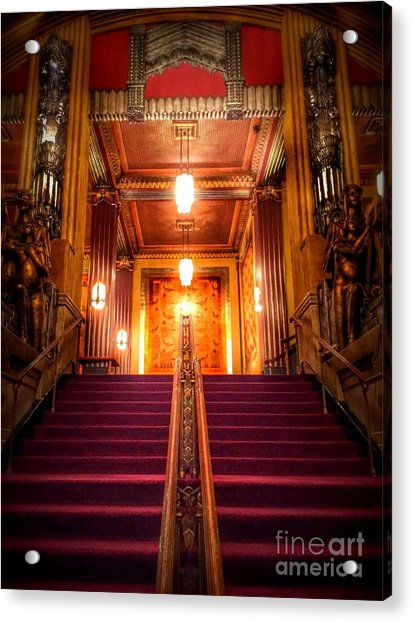 Pantages Theater's Grand Staircase Acrylic Print