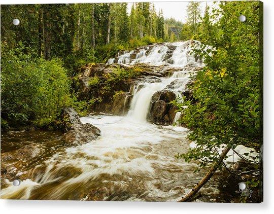 Paradise Falls-2 Acrylic Print