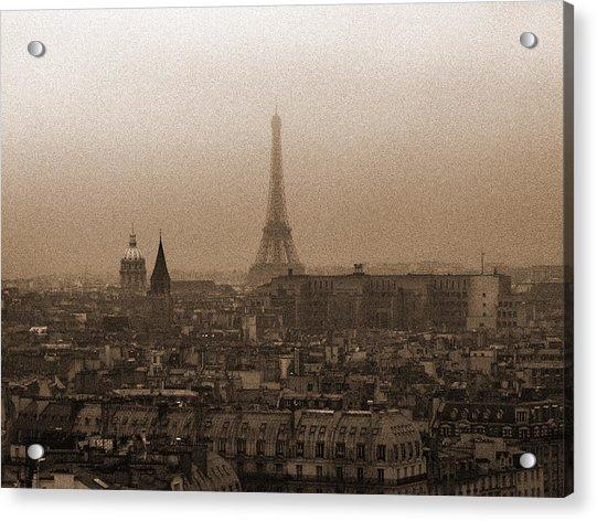 Paris Of Yesteryear IIi Acrylic Print