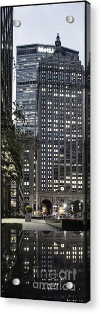 Acrylic Print featuring the photograph Park Avenue Met Life Nyc by Juergen Held
