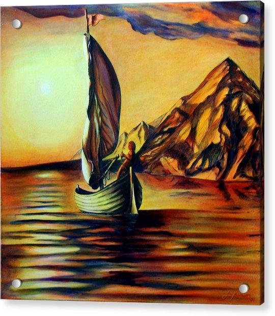Passage- The Journey Home Acrylic Print