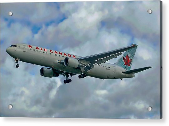 Passenger Jet Plane Acrylic Print