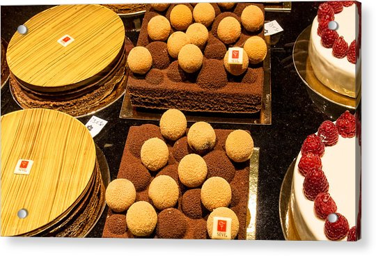 Pastry And Cakes In Lyon Acrylic Print