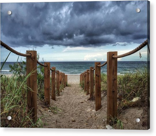 Pathway To The Clouds Acrylic Print