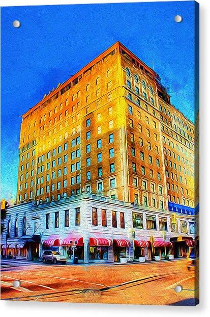 Peabody Hotel - Memphis Acrylic Print
