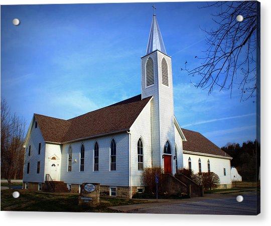 Peace Church Acrylic Print