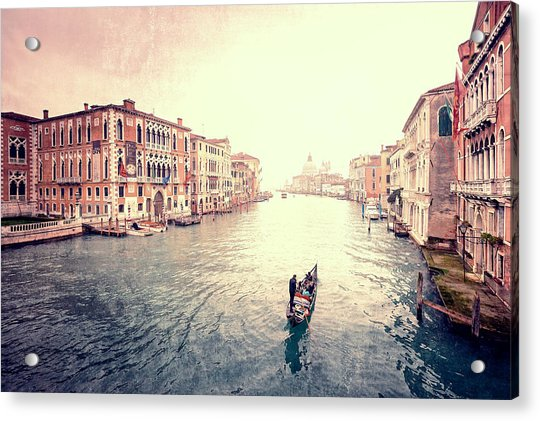 Peace In Venice Acrylic Print