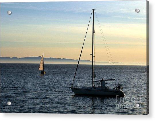 Peaceful Day In Santa Barbara Acrylic Print
