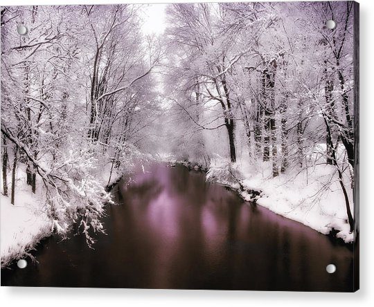Pearlescent Acrylic Print