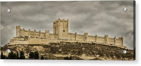 Penafiel Castle, Spain. Acrylic Print