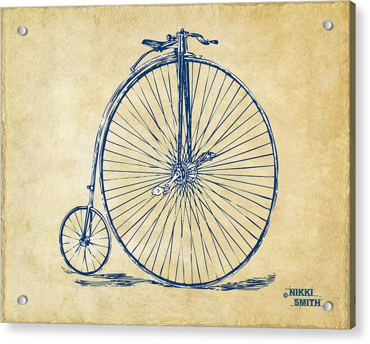 Penny-farthing 1867 High Wheeler Bicycle Vintage Acrylic Print