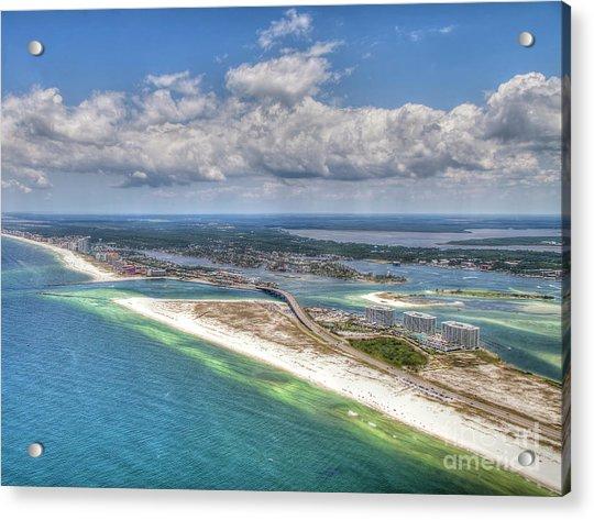 Perdido Pass Aerial 3029 Acrylic Print
